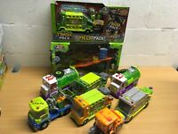 THE TRASH PACK SEWER DUMP SEWER TRUCK GARBAGE SWEEPER YOU CHOOSE