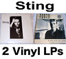 Sting: 2 vinyl LPs Nothing Like The Sun (2 x LP) + Dream Of The Blue Turtles VG