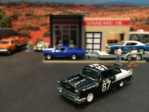 1:64 Hot Wheels LE Legends Vintage Racing Buck Baker 1957 57 Chevy 150 Stockcar