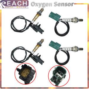 4pcs Up+Downstream Air Fuel Ratio Oxygen Sensor For Nissan Titan Armada V8-5.6L