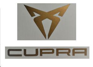 Cupra Aufkleber Sticker Logo kupfer matt Leon Ateca Ibiza Arona