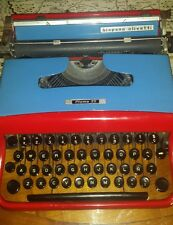☆Hispano Olivetti☆ ◇PLUMA 22◇ Vintage Portable Working Typewriter [Very Rare]