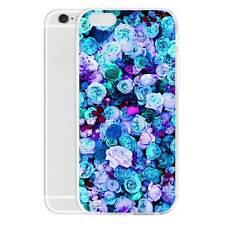 Blue enchantress Pattern Case Blue Rose Rosa hybrida Slim Cover Bumper for Phone