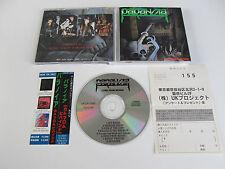 PARANOIA Come From Behind CD 1987 MEGA RARE OOP ORIGINAL 1st PRESSING JAPAN!!!!