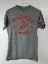 Marines Military Quantico T Shirt Small