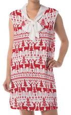Christmas Chiffon Plus Size Dresses for Women