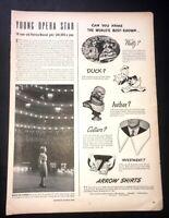 Life Magazine Ad ARROW SHIRTS 1944 Ad