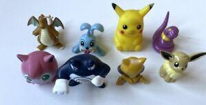 Tomy Pokemon figure bundle X8 - Slider - Nintendo - C.G.T.S.J