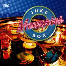+  JUKEBOX MEMORIES - 1958 / VARIOUS ARTISTS - 2 CD SET - brand new - unsealed
