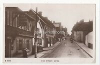 High Street Oxted Surrey 1918 RP Postcard 889b