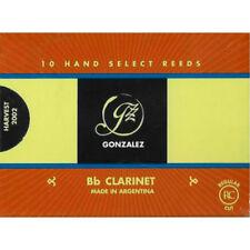 Gonzalez Bb Clarinet Reeds Strength 4.5, Box of 10