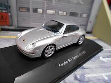 PORSCHE 911 993 Carrera 4S Coupe 1995 silber silver Atlas IXO 1:43