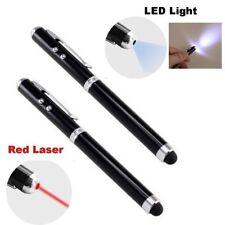 4-in-1 Touchscreen Stylus, Ballpoint Pen, Laser Pointer and LED Light