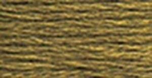 DMC 117-611 Six Stranded Cotton Embroidery Floss, Drab Brown, 8.7-Yard