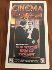 THE WRONG ARM OF THE LAW PETER SELLERS BILL KERR REG LYE AS NEW PAL VHS VIDEO