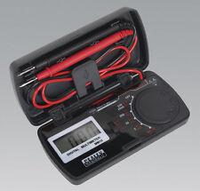 Sealey MM18 Multímetro compacto de bolsillo se ajusta a en 61010-1 CAT II Seguridad Nuevo