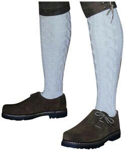 Trachtensocken 39-48 Kniebundstrümpfe f. Lederhose Strümpfe Socken Stutzen beige