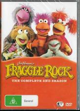 FRAGGLE ROCK - COMPLETE 2ND SEASON 4 DISCS - NEW & SEALED R4 DVD FREE LOCAL POST
