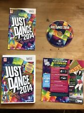 Just Dance 2014 (Nintendo Wii, 2013), Tested, Complete In Box