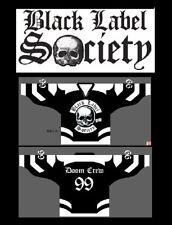 BLACK LABEL SOCIETY Hockey Jersey sz 56 XXL 2X bls zakk wylde shirt