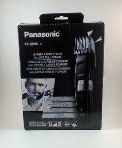 Panasonic Men's Barber Style Long Beard Trimmer, ER-GB96-K - Black