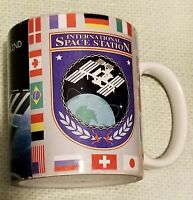 Vintage International Space Station Coffee Mug Cup The Next Giant Leap