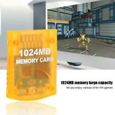1024MB Large Capacity Memory Card Game Accessories For WII Gamecube Game Console