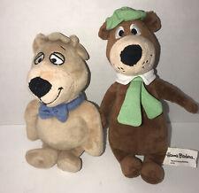 """Yogi Bear & Boo Boo Plush 8"""" Toy Plush Hanna Barbera"""