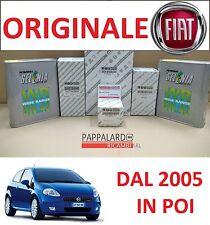 KIT TAGLIANDO FILTRI ORIGINALI +OLIO SELENIA FIAT GRANDE PUNTO 1.2 BENZINA 48KW