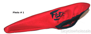 Old School Flite Seat Cover / Red     (New Old Stock)