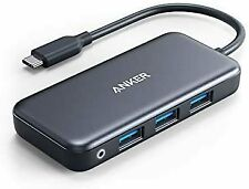 Anker USB C Hub, 5-in-1 USB C Adapter, with SD/TF Card Reader (Renewed)