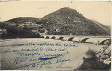 DIGNE-LES-BAINS 55 pont sur la bléone écrite