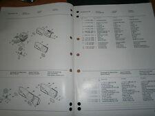 STIHL tronçonneuse 012 : catalogue de pièces 07/1987