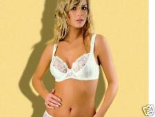 Luxurious lingerie: non padded bra 32DD in ivory colour
