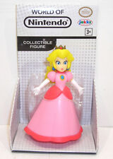 World of Nintendo PRINCESS PEACH Action Figure SEALED Jakks Pacific Super Mario