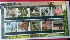 Trinidad & Tobago 2019 $2 Overprint Environment Sheet Part 2 Mint Set UNC