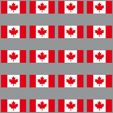 20 Aufkleber 3cm Kanada CDN CA Modellbau Mini Sticker Länder Flagge Fahne RC