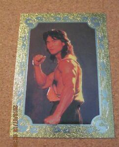 Mortal Kombat Foil Frame Chase #W 1 Liu Kang - 1995 Skybox                   ZN1