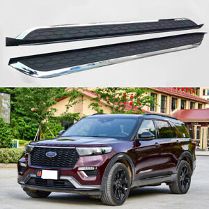 Running Boards fits for New Ford Explorer 2019 2020 2021 Side Step Nerf Bars