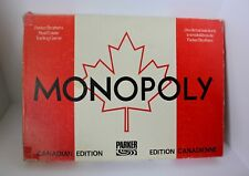 Rare Vintage 1982 Parker Brothers MONOPOLY Canadian Edition Board Game Complete