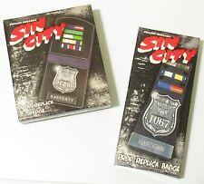 Sin City Limited Edition Movie Prop Replica 2 - Badge Set (Neca 2005) #1840/2500