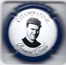 Capsule de champagne Tissier Bernard N°3b ctr bleu métal inscription sur contour