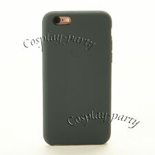 Genuine Original Apple Leather Case Cover For iPhone 6 iPhone 6s Open Box Black