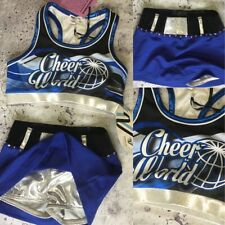Nwts Real Cheerleading Cheer World Uniform Youth Med