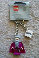 LEGO Harry Potter - Rare - Original Dumbledore Keychain - New w/ Tags