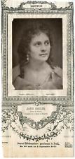 Lemercier, Paris, actrice, Vaudeville, Jane Essler (1836-1892) Vintage Print, vi