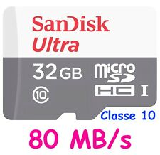 Sandisk Sdsquns-032g-gn3mn Carte Micro SD Classe 10 32