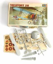 Vintage 1966 REVELL modèles ~ 1:72 - NIEUPORT 28 Biplane ~ Brand NEW IN BOX