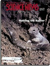 Science News - 1999, October 9 - Critters That Taunt Rattlesnakes, H. Pylori