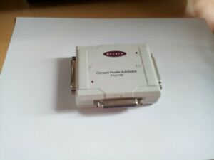 Belkin F1U115E - Compact Parallel AutoSwitch - allows two PCs to share a printer